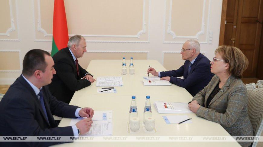 Румас встретился с госсекретарем Союзного государства