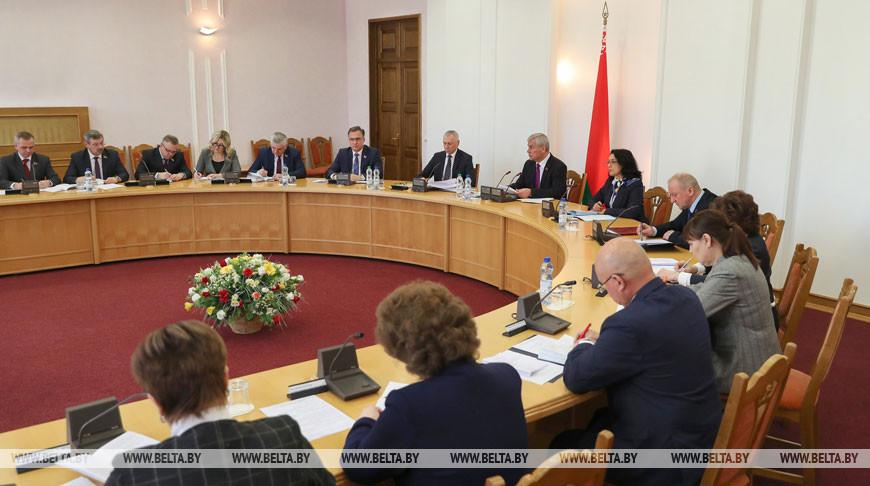 Заседание Совета Палаты представителей состоялось в Минске
