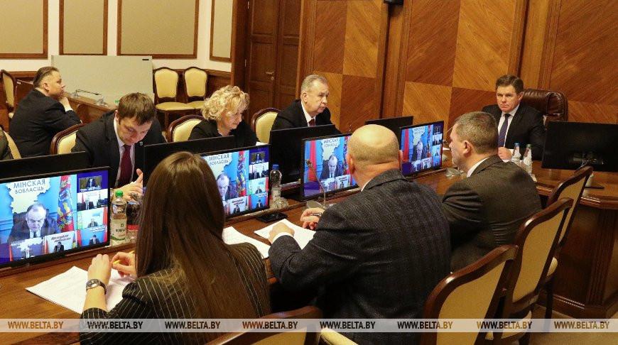 Петришенко принял участие в заседании Комиссии по делам несовершеннолетних при Совете Министров