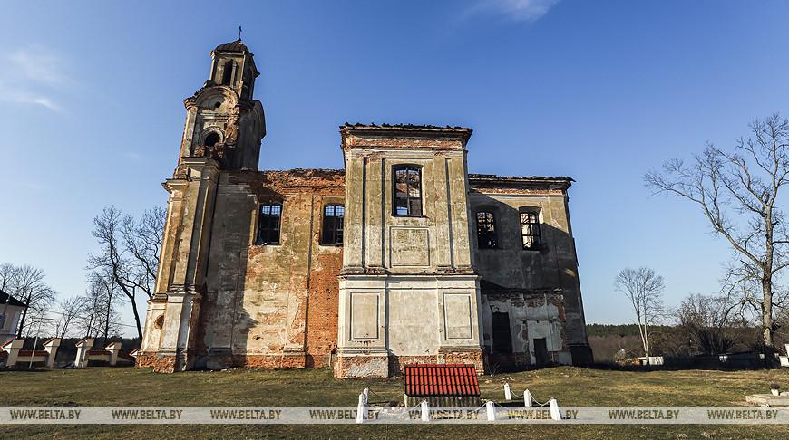 Костел Пресвятой Троицы в агрогородке Лысково