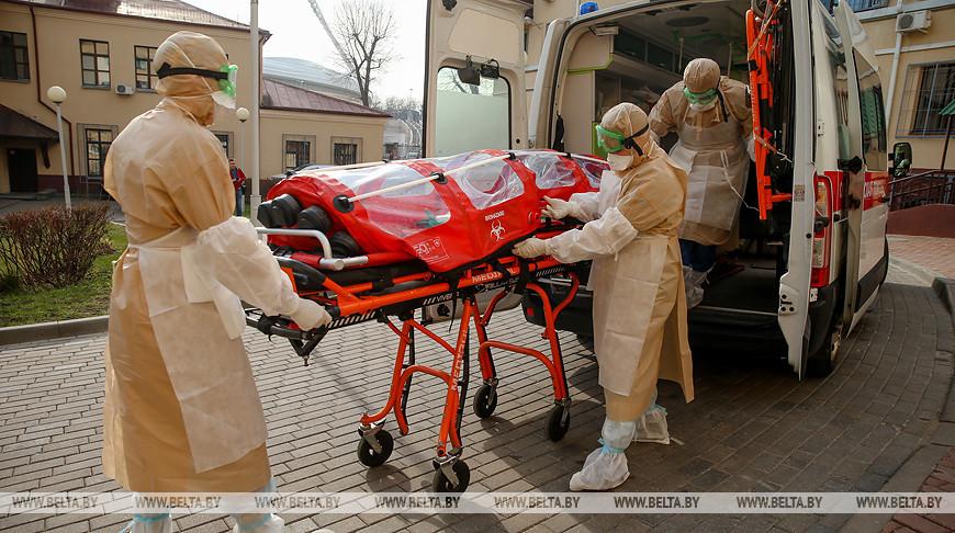 Транспортировка пациента с коронавирусом