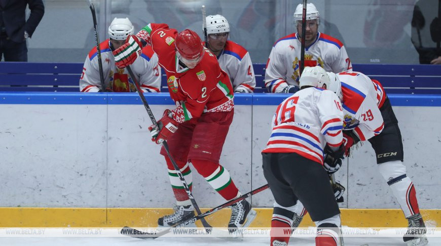 Хоккейная команда Президента вышла в финал республиканского любительского турнира