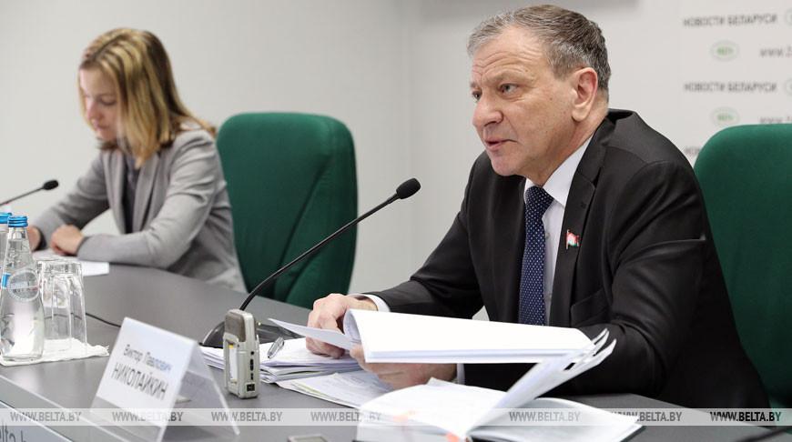 Брифинг о работе Постоянной комиссии по жилищной политике и строительству прошел в БЕЛТА