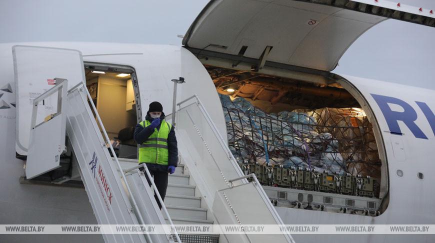 Более 2 тыс. тестов на коронавирус доставили в Беларусь из Китая