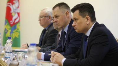 Заседание областного штаба по борьбе с распространением коронавируса прошло в Витебске