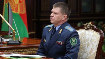 Лукашенко принял с докладом председателя ГТК