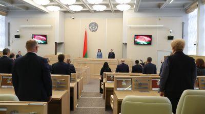 Кочанова выступила на открытии весенней сессии Совета Республики