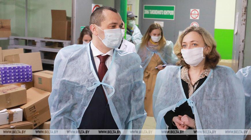 Субботин ознакомился с уровнем подготовки медицинских и фармакологических учреждений Могилева