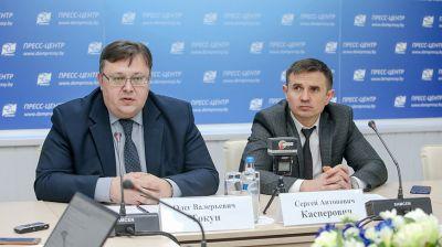 Пресс-конференция о распределении молодых кадров в Беларуси прошла в Минске
