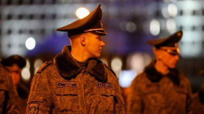 В Минске начались репетиции сводной роты почетного караула