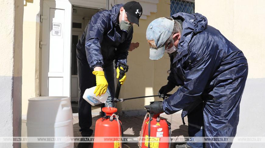 Дезинфекция жилых домов в Витебске