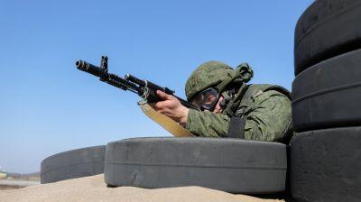 Батальонное контрольно-тактическое занятие прошло на полигоне Брестский