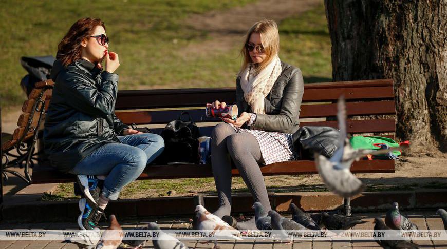 В Минск пришла настоящая весна
