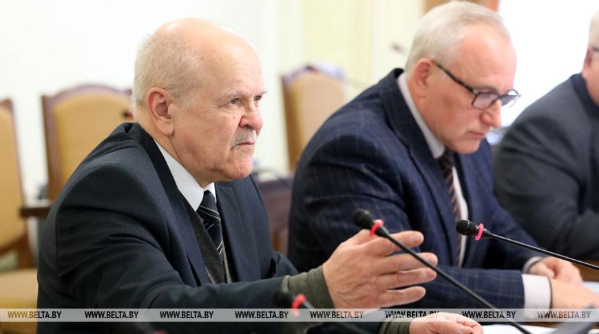 В Витебском облисполкоме прошло заседание областного штаба по борьбе с распространением коронавируса
