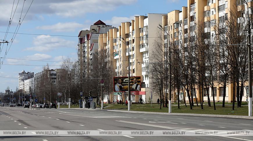 На улицах Витебска