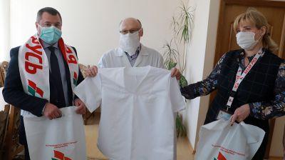 """Благотворительная акция """"Белой Руси"""" по поддержке медработников стартовала в Могилевской области"""