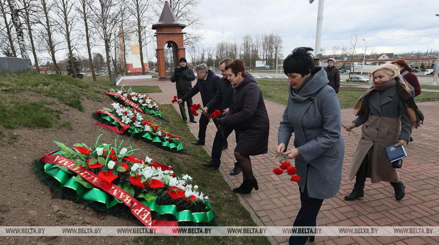 Память узников концлагерей почтили в Витебске