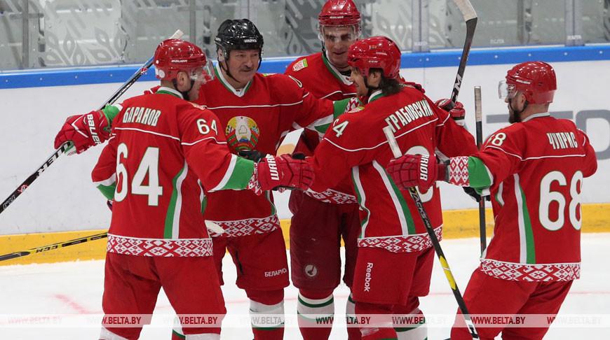 Команда Президента в 11-й раз стала победителем любительского хоккейного турнира