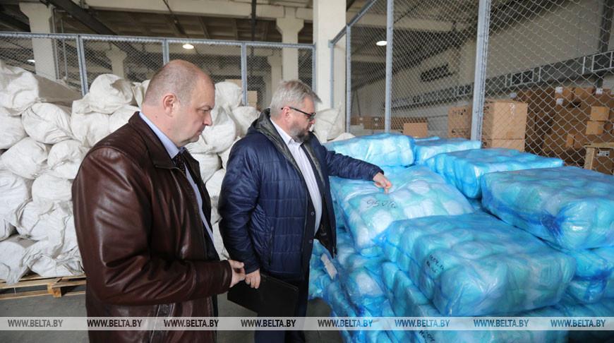Гуманитарная помощь из Узбекистана поступит в больницы по борьбе с COVID-19