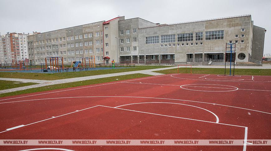 Школа на 1020 учащихся строится в Витебске