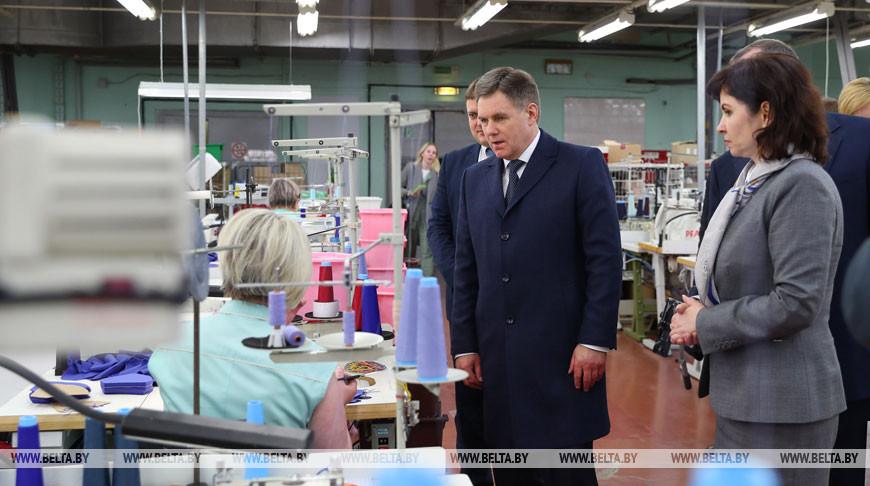 """Петришенко посетил СП ЗАО """"Милавица"""""""