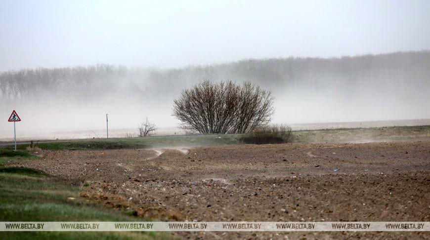 Оранжевый уровень опасности сохранится 16 апреля из-за ветра