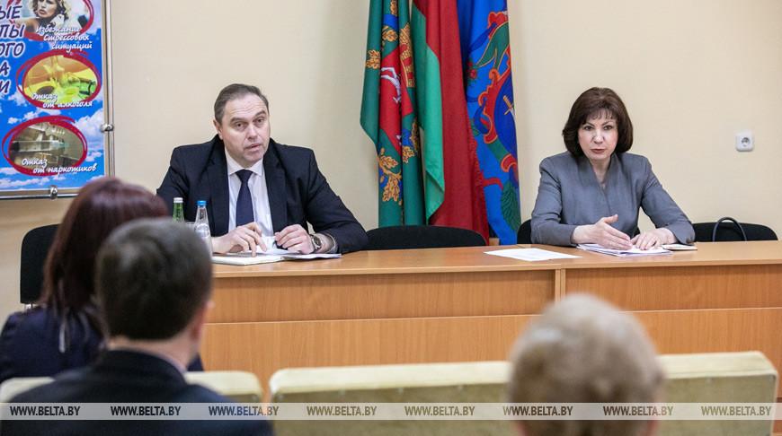 Кочанова: Витебской области уделяется самое пристальное внимание