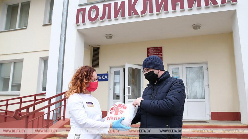 """Благотворительную акцию провело общество """"Каритас"""""""