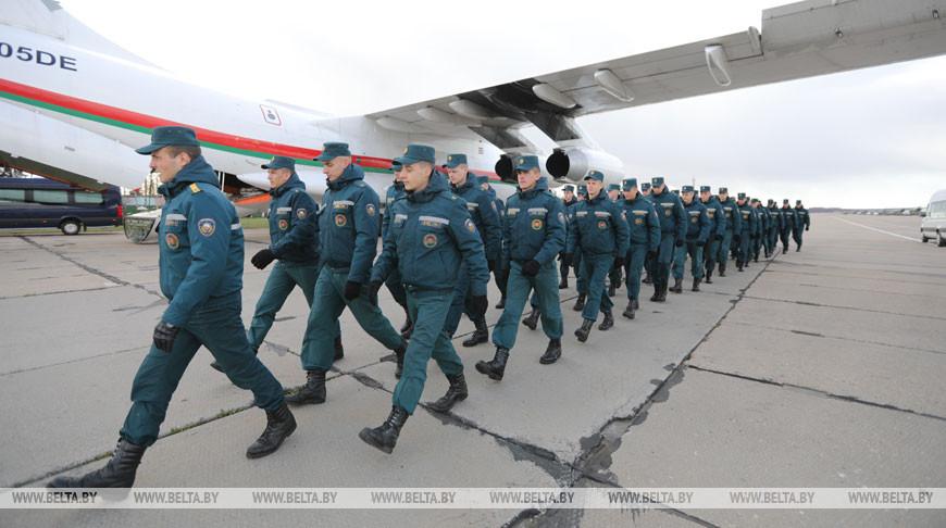Самолет с гуманитарным грузом из Китая прибыл в Беларусь