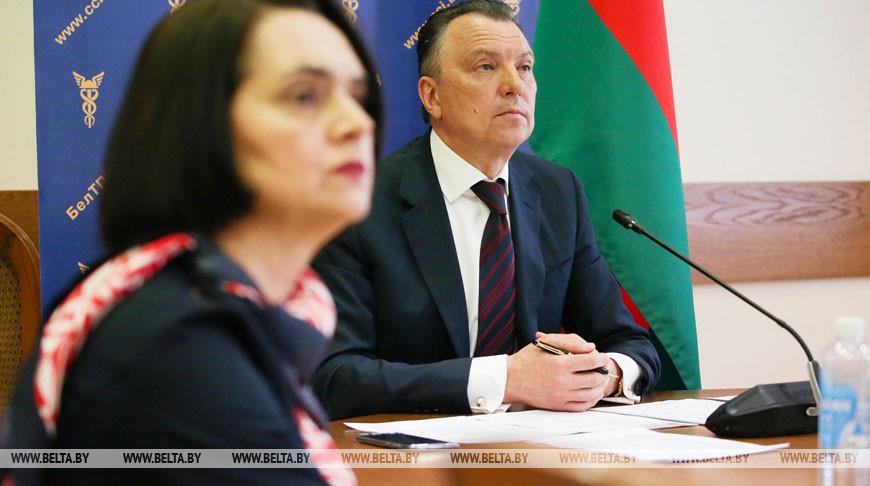 Заседание Консультативного совета палат государств - членов ЕАЭС прошло в БелТПП