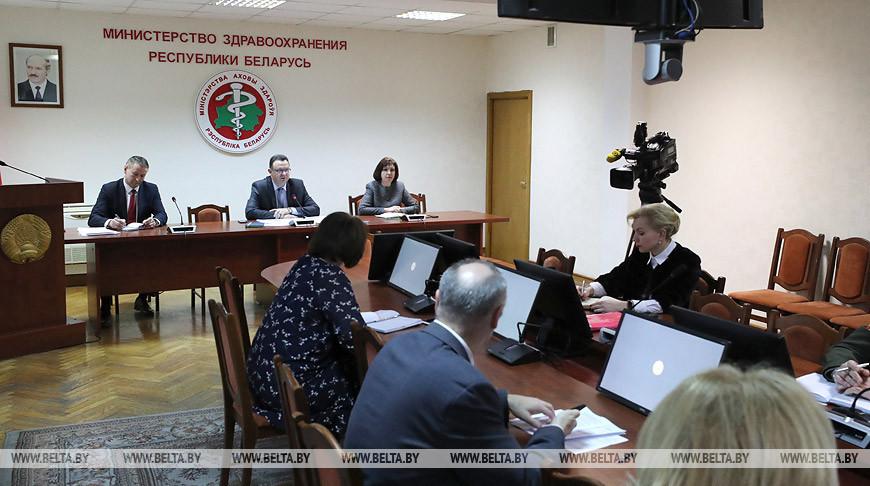 Медики на видеоконференции с участием Кочановой обсудили ситуацию с COVID-19 в Минске