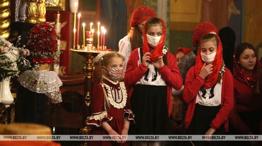 Православные верующие отметили Пасху