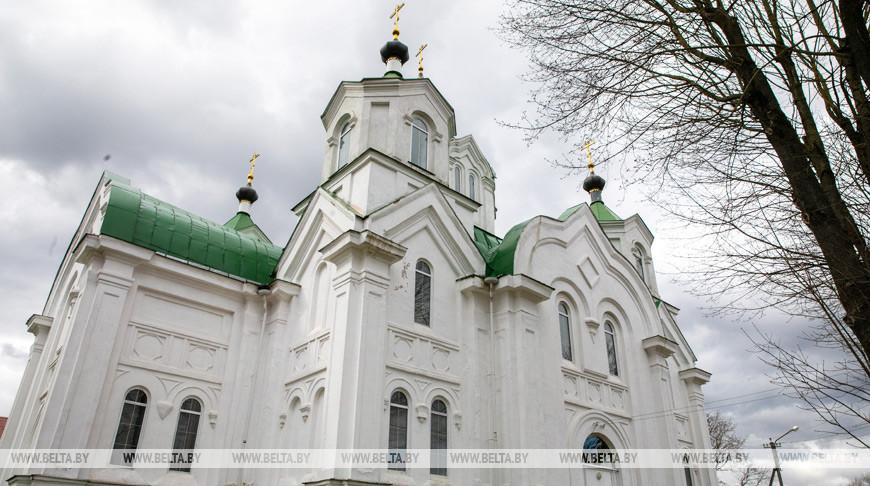 Свято-Ильинская церковь в Бешенковичах - памятник архитектуры XIX века