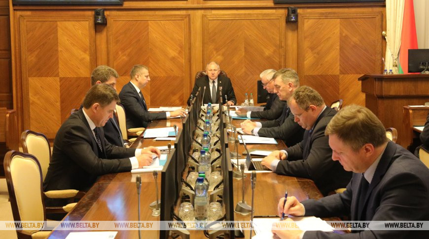 Заседание Президиума Совета Министров по развитию кожевенной отрасли прошло в Минске