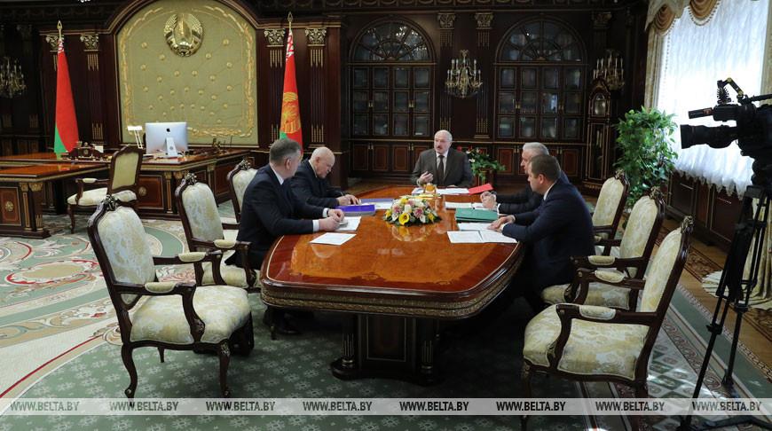 Лукашенко внесли на рассмотрение проект указа о лесном хозяйстве