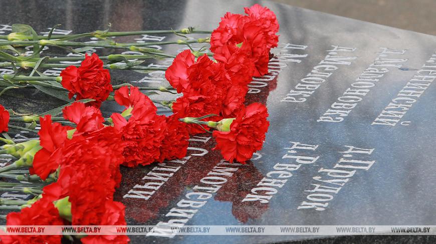 Митинг в память о жертвах катастрофы на Чернобыльской АЭС прошел в Костюковичах