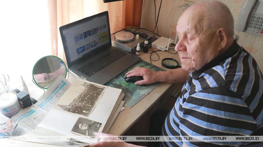 Ветеран Великой Отечественной войны Федор Кривоногов
