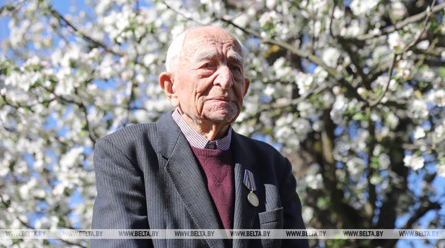 Ветеран войны из Пружан отмечает столетний юбилей