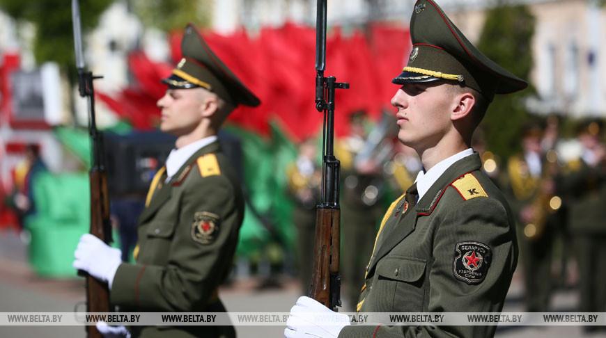 День Победы празднуют в Гродно