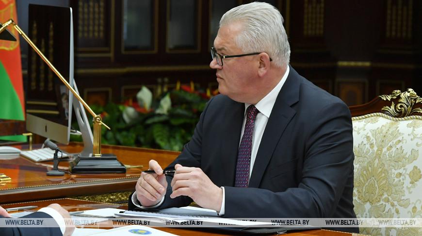 Лукашенко принял с докладом вице-премьера и министра образования