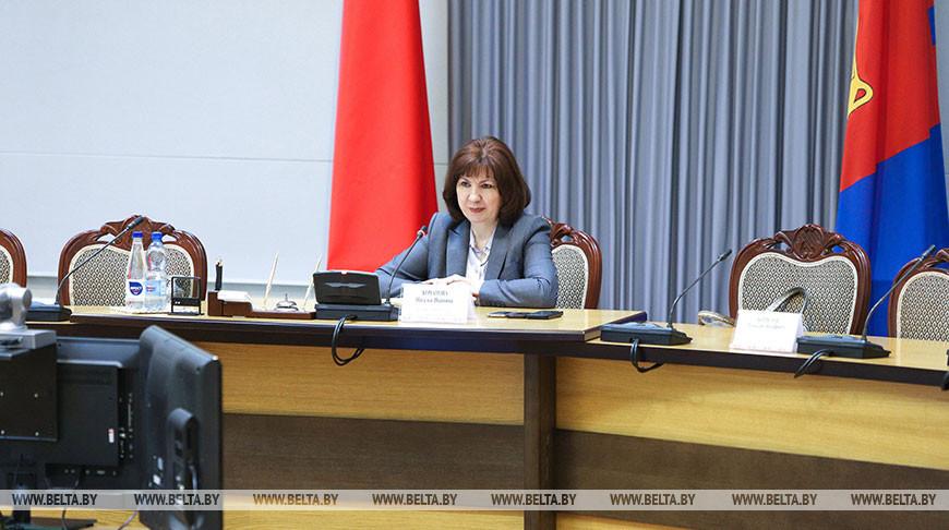Кочанова встретилась с руководителями и работниками медучреждений Брестской области