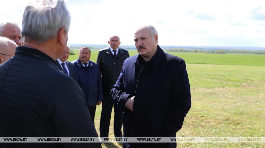 Лукашенко совершает рабочую поездку в Витебскую область