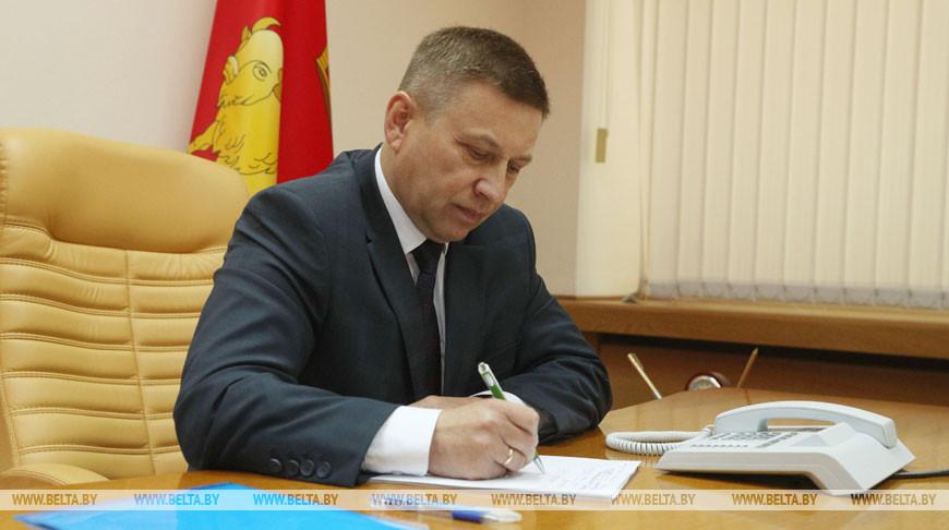 Лавринович провел прямую телефонную линию в Гродно