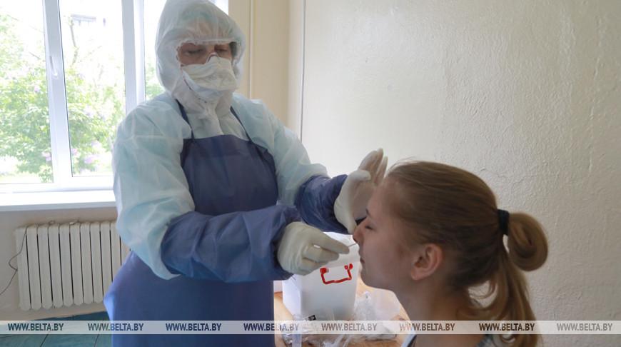 В поликлинике №4 Могилева две группы медиков работают с пациентами с подозрением на COVID-19