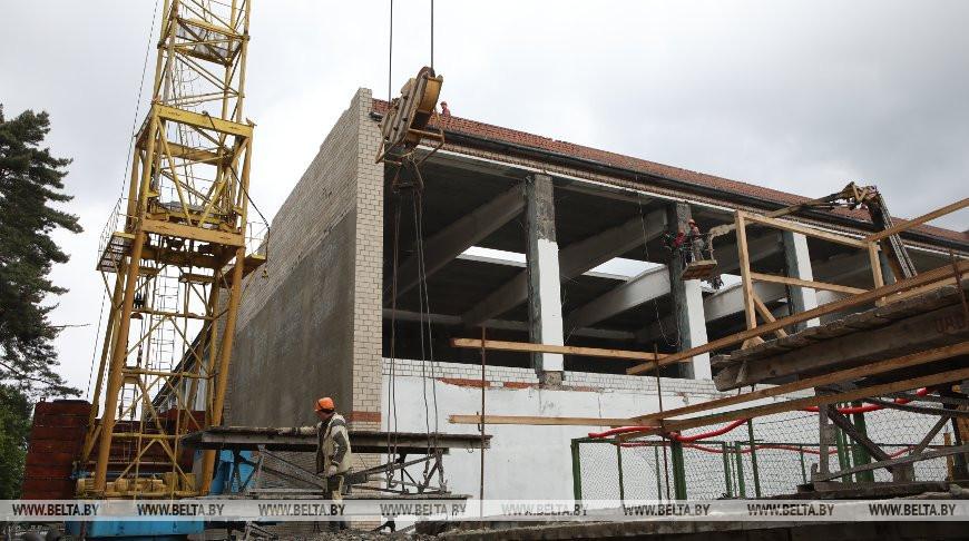 Два бассейна планируют открыть после реконструкции в Гомеле этим летом