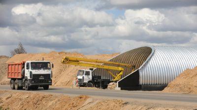Продолжается реконструкция автодороги Р53 Слобода - Новосады