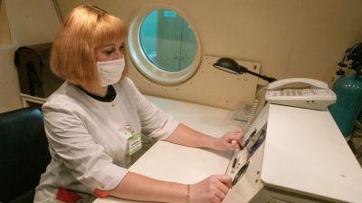 В Витебске реабилитацию пациентов после пневмонии проводят в барокамере