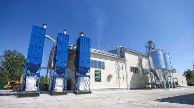 Завод по производству пеллет запустили в Пружанском районе