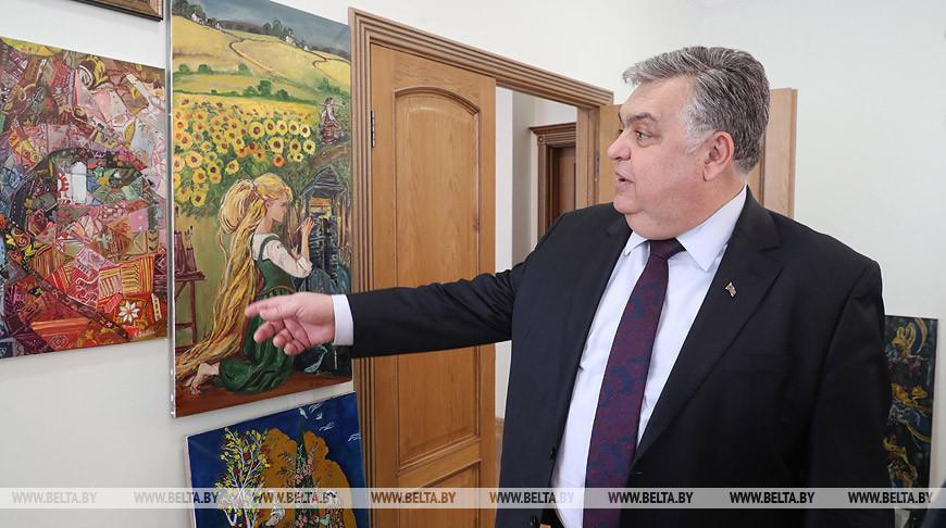 Посол Азербайджана дал интервью корреспонденту БЕЛТА