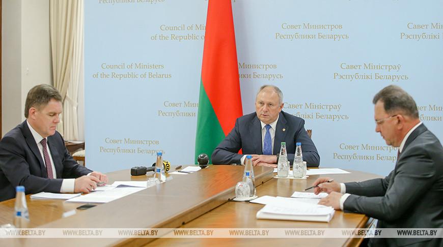 Румас принял участие в заседании Совета глав правительств СНГ